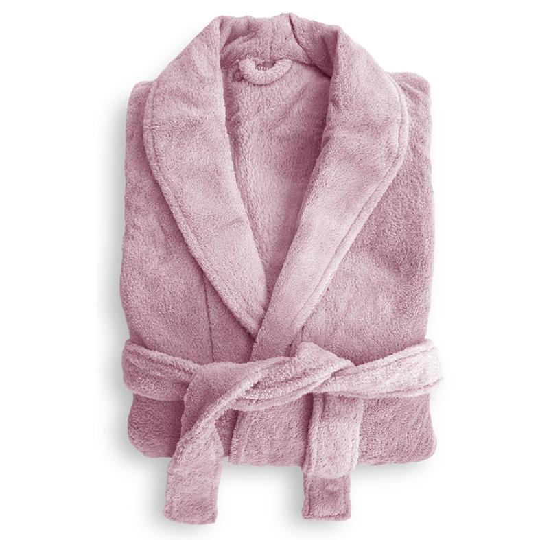 Microplush Robe Blush