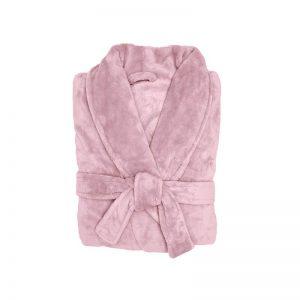 plush robe blush