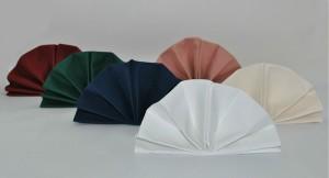 Napkins Folded