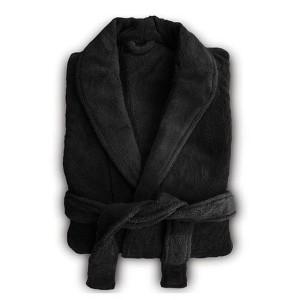 Microplush Robe Black