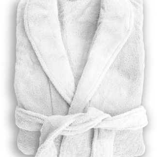 Microplush Robe White