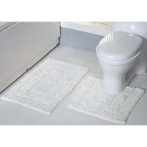 tufted-bath-mat-set-white