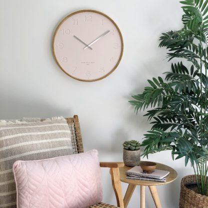 freya-blush-wall-clock