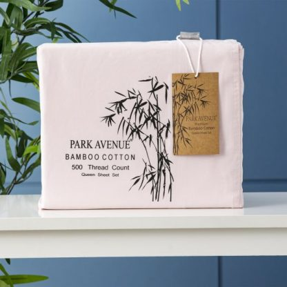 park-avenue-bamboo-sheet-set-peach