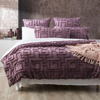 renee-taylor-riley-vintage-wash-cotton-chenille-tufted-quilt-cover-set-grape