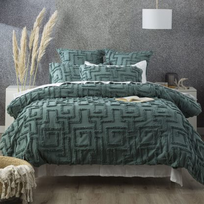renee-taylor-riley-vintage-wash-cotton-chenille-tufted-quilt-cover-set-mineral