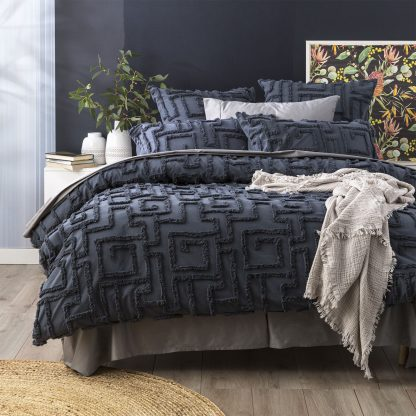 renee-taylor-riley-vintage-wash-cotton-chenille-tufted-quilt-cover-set-slate